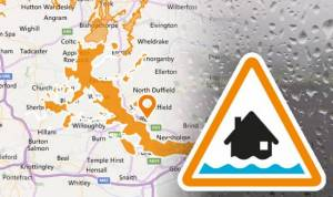 Snow melt triggers flood alerts on Ouse
