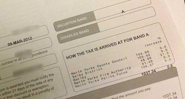 Council Tax Calculator: April 2015-March 2016
