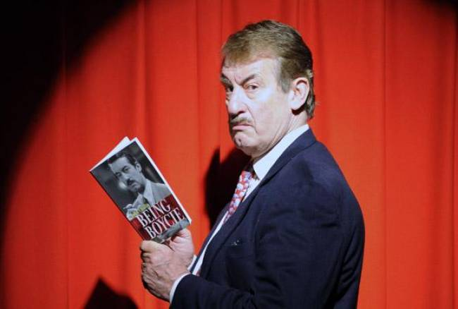 Only Fools star talks 'being Boycie' in Selby show