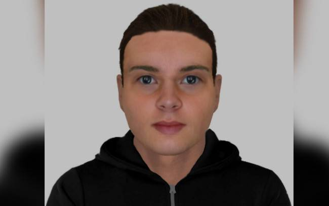 Efit released at the time of previous, similar incidents. Police are investigating whether there is a link.