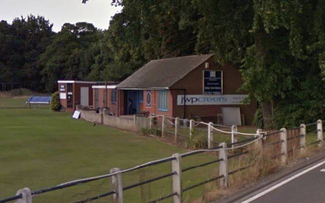 TV stolen in cricket club burglary