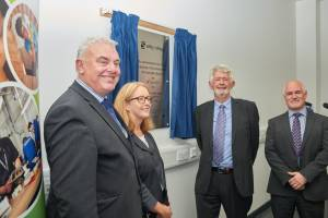 College marks opening of £1.4m construction facility