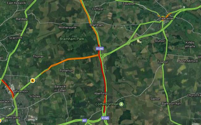 Traffic slow but moving as Leeds Festival gets going