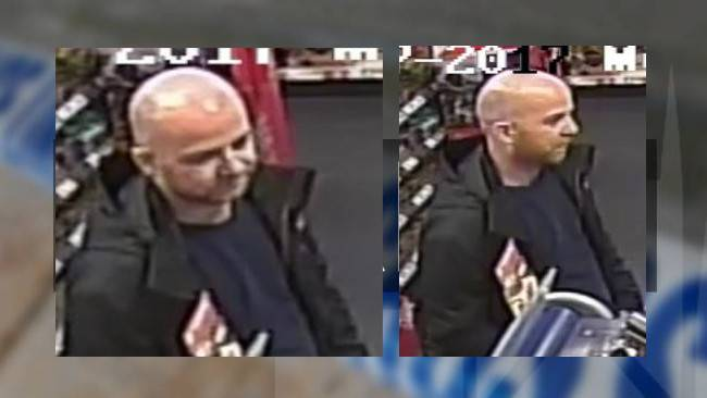Man sought over stolen credit card purchases