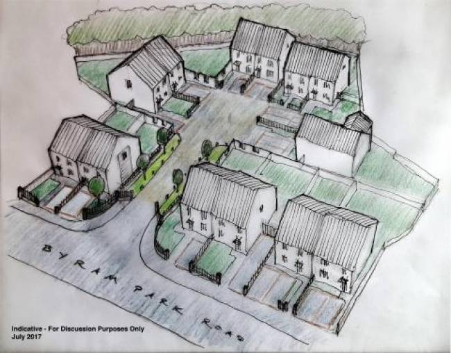 Council to build 13 new homes in Byram