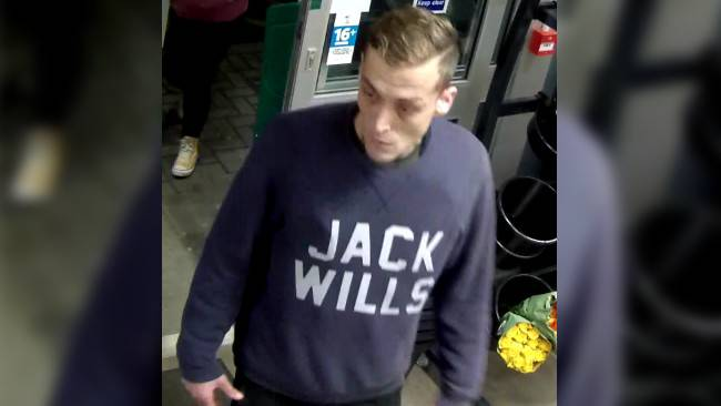Suspect sought over South Milford alcohol theft